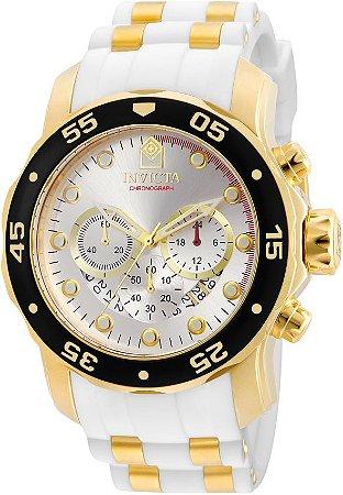 Relógio Invicta Pro Diver 20292 Cronografo 48mm Banhado Ouro 18k