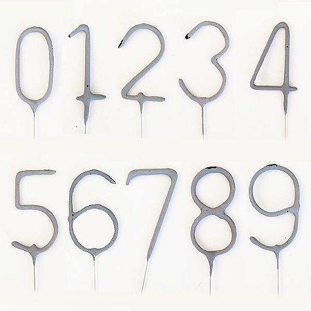 Vela Sparkle Formato Número