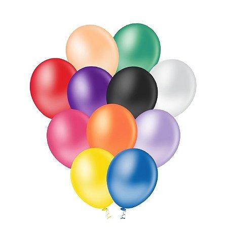 Balões Lisos (Tam. 10)