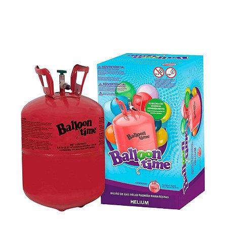 Cilindro de Gás Hélio Descartável (30 Balões)