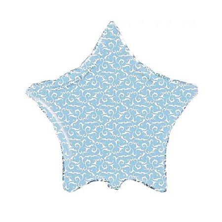 Balão Metalizado Estrela Arabesco