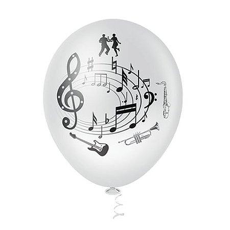 Balões Notas Musicais