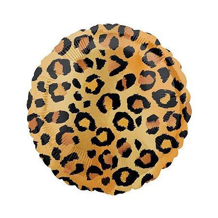 Balão Metalizado Animal Print