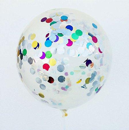 Balão Confete