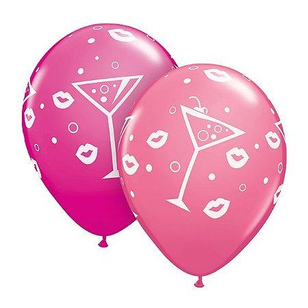 Balões de Drinks e Beijos