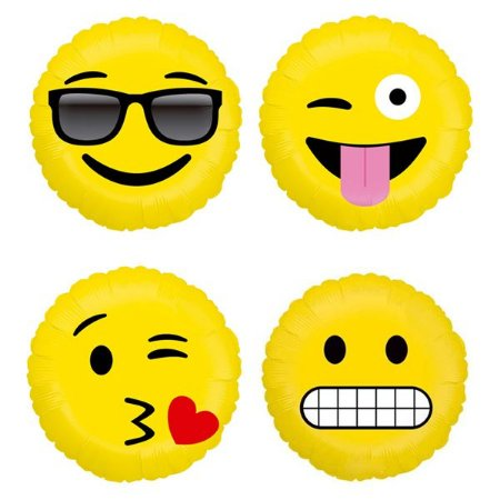 Balão Metalizado Emojis