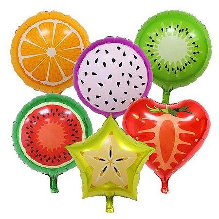 Balões Metalizados de Frutas