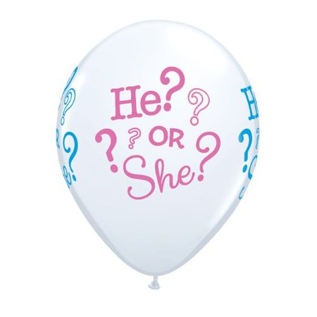 Balões He? Or She?