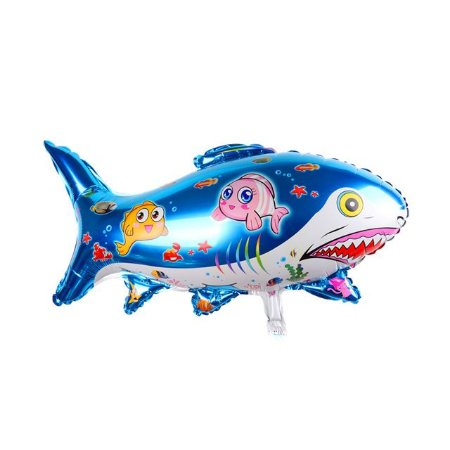 Balão Metalizado Tubarão