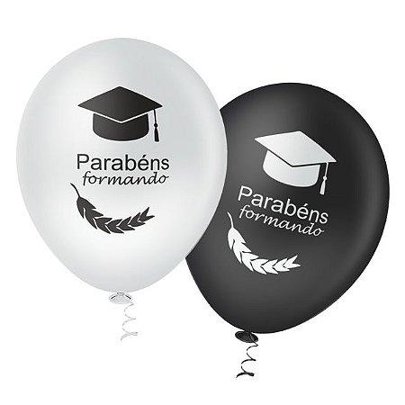Balões de Formatura