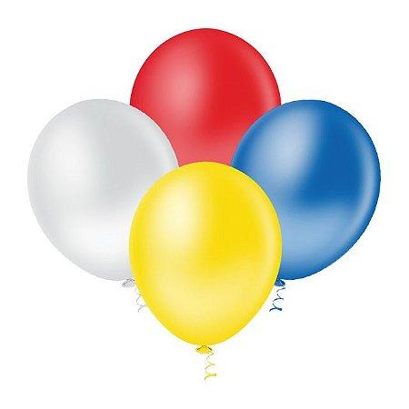 Balões Lisos (Tam. 5)