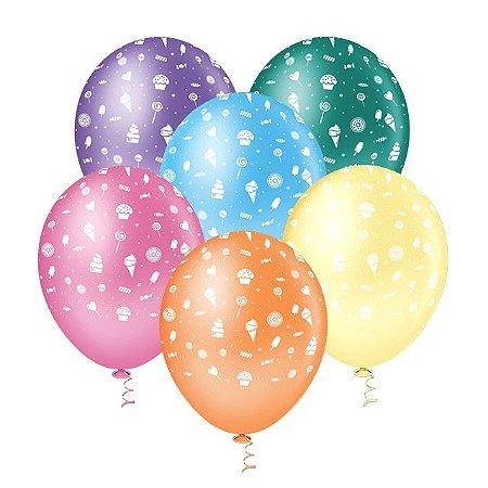 Balões de Doces