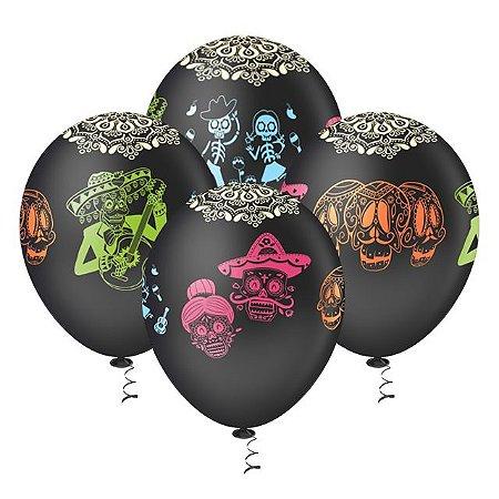 Balões de Caveira Mexicana