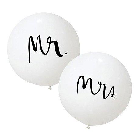 Balão Mr. e Mrs.