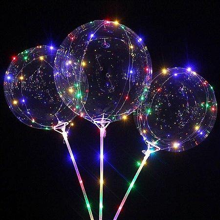 Balões de Led (Kit com vareta)