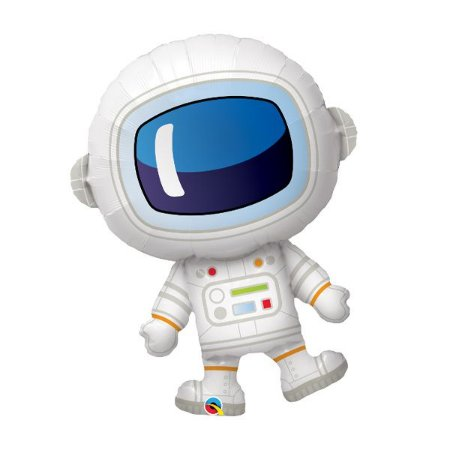 Balão Metalizado Astronauta