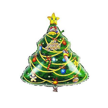 Balão Metalizado Árvore de Natal