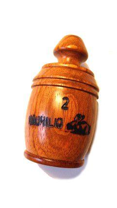 Pio 2 em Madeira Jatobá - Ave Juriti