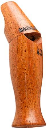 Pio 42 em Madeira Jatobá - Ave Macuco / Azulona / Inhambu-relógio - Tipo Oblíquo ou pé de cabra