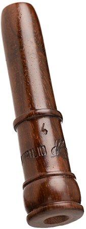 Pio 4 em Madeira Exótica - Ave Macuco e Azulona (Tipo canudo especial para fêmeas)