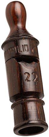 Pio 22 em Madeira Exótica de Reaproveitamento - Ave Tururim ou Canela Parda