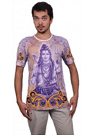 Camiseta Indiana Unissex Deuses Shiva