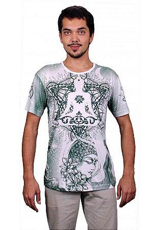 Camiseta Indiana Unissex Deuses Buda