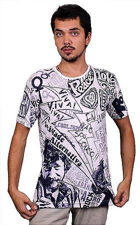 Camiseta Indiana Unissex Raul Seixas Sociedade Alternativa