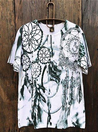 Camiseta Indiana Masculina Tie-Dye Filtro dos Sonhos