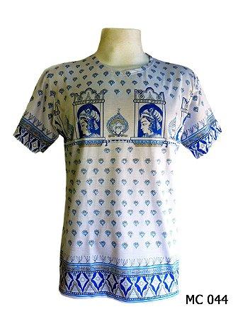 Camiseta Indiana Masculina Egito Branca