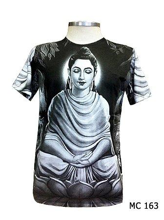 Camiseta Indiana Masculina Deusa Kuan Yin