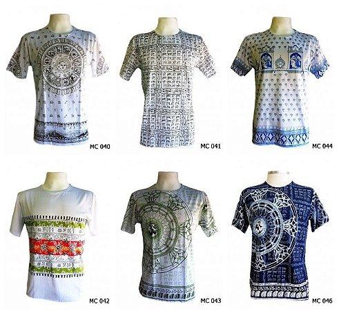 f79b633f57055 Kit 10 Camisetas Indianas Masculinas Várias Estampas - Universo ...