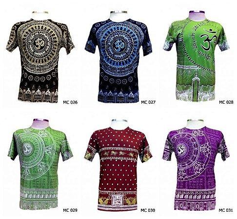 d8a727b1d21c1 Lote Kit 50 Camisetas Indianas Masculinas Atacado - Várias Estampas ...