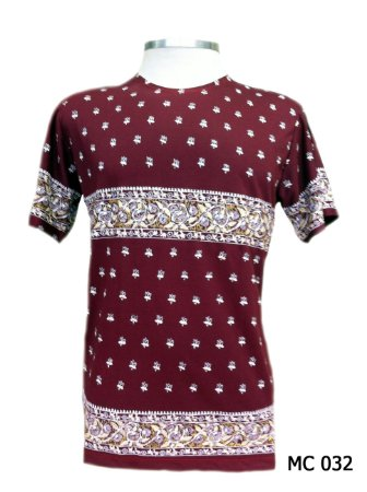 Camiseta Indiana Masculina Mandalas Vinho