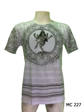 Camiseta Indiana Masculina Shiva-Nataraja