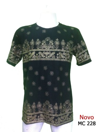 Camiseta Indiana Masculina Étnica Preta