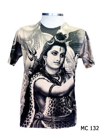 Camiseta Indiana Masculina Shiva