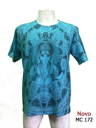 Camiseta Indiana Masculina Ganesha