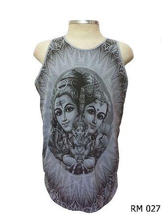 Regata Indiana Masculina Shiva, Lakshmi e Ganesha