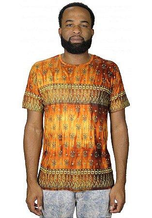 Camiseta Indiana Unissex Íris Amarela