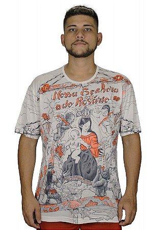 Camiseta Indiana Unissex Nossa Senhora do Rosário