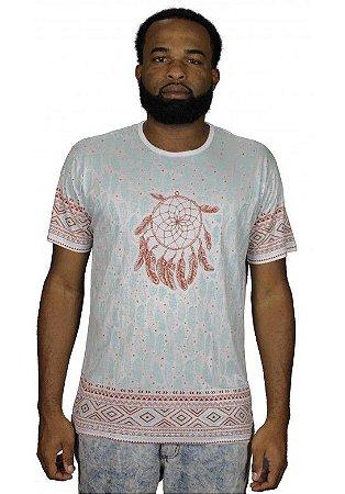 Camiseta Indiana Unissex Filtro dos Sonhos Branca