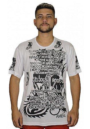Camiseta Indiana Unissex São Jorge Devoção