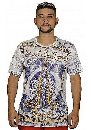 Camiseta Indiana Unissex Nossa Senhora Aparecida