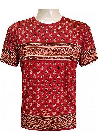 Camiseta Indiana Unissex Coroa Vermelha