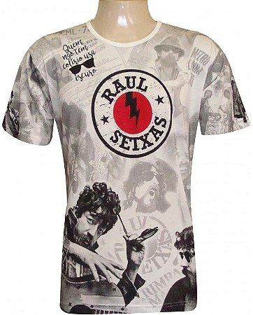 Camiseta Indiana Unissex Raul Seixas