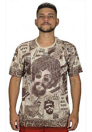 Camiseta Indiana Unissex Raul Seixas Areia