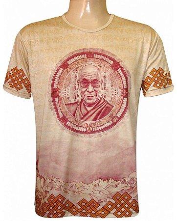Camiseta Indiana Unissex Dalai Lama
