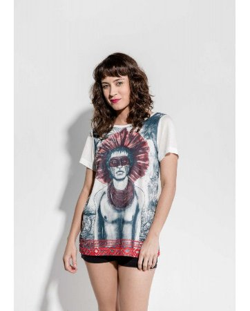 T-shirt Indiana Feminina Tupi