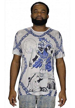 Camiseta Indiana Unissex Ogum Branca